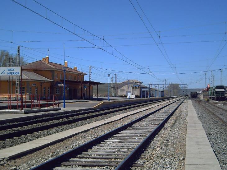 Mataporquera, estación Renfe 2006.